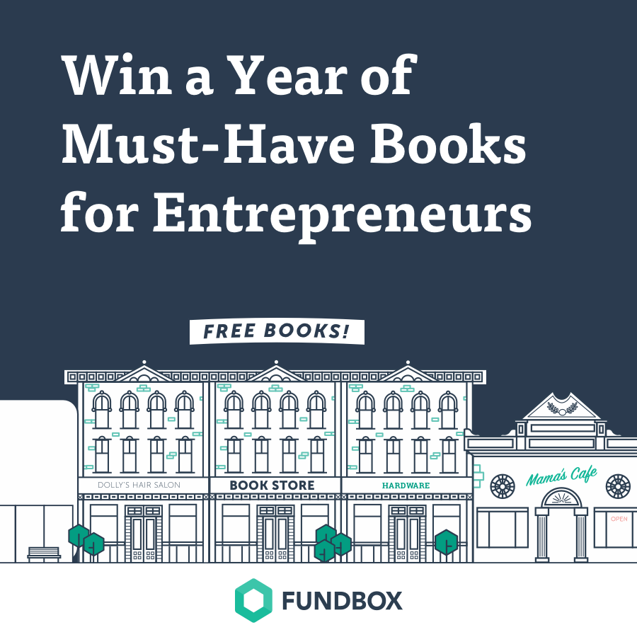 Win a year of must-have books for entrepreneurs and business owners