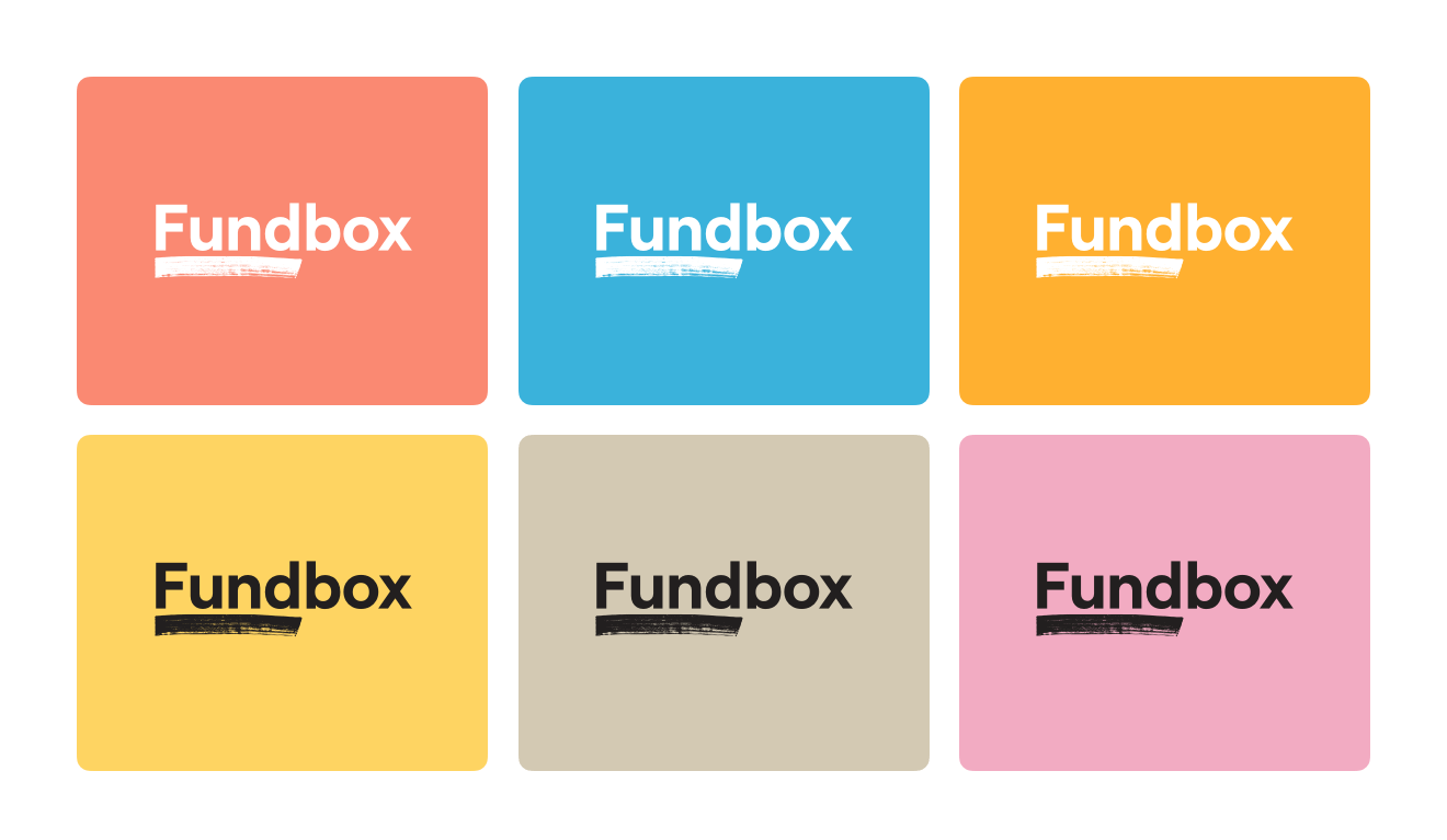 Fundbox logos and colors